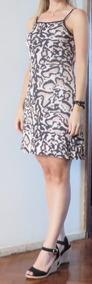 Vestido Barato Oncinha Bojo Curto Verão Roupas Femininas M40