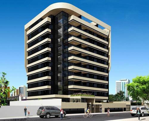 Imagem 1 de 26 de Edifício Chardonay Apartamento Com 4 Quartos Na Ponta Verde Em Maceió - Ap0035