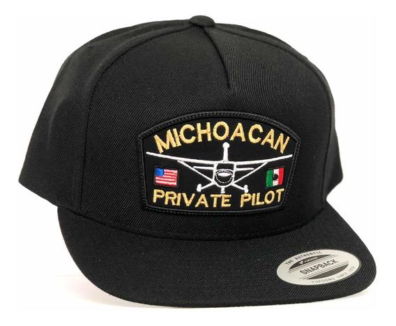 Gorra Yupoong Michoacan Peivate Pilot Snapback