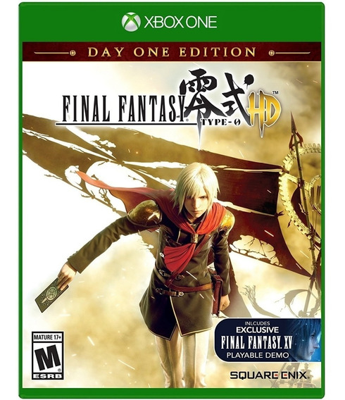 Jogo Final Fantasy Type 0 Hd Xbox One Disco Fisico Lacrado