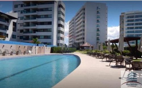 Imagem 1 de 29 de Apartamento Mobiliado  Beira Mar A Venda Ponta De Campina, J
