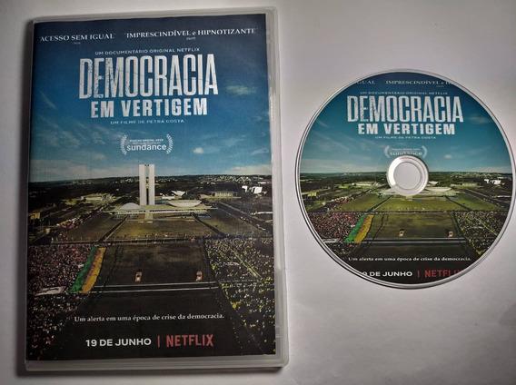 Dvd Filme - Democracia Em Vertigem (2019)