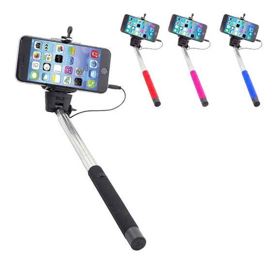Monopod Selfies Con Cable Para Smartphone Gopro Pack 4
