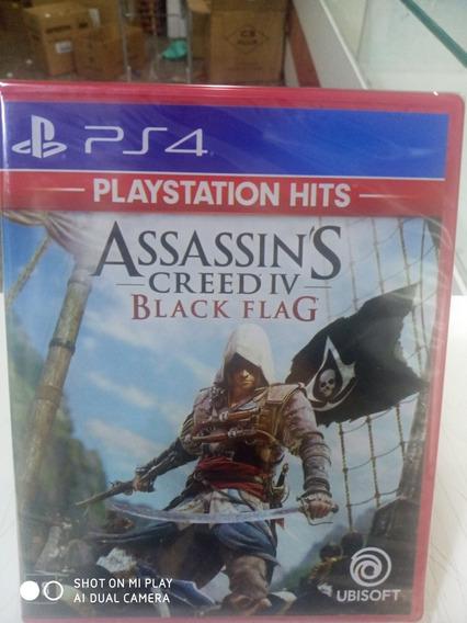 Jogo Assassins Creed Iv Black Flag Ps4 M Fisica Português
