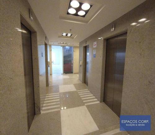 Laje Comercial Para Alugar, 544m² - Brooklin - São Paulo/sp - Lj0714