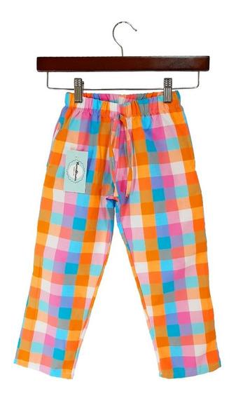 Pantalón Cuadrille Para Nena