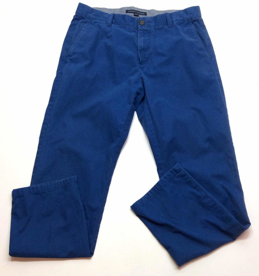 Pantalon Tommy Hilfiger De Vestir Gabardina Talle 32