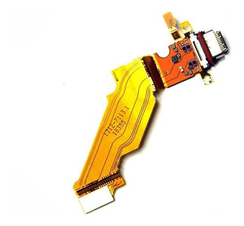 Imagem 1 de 1 de Cabo Flex Conector Carga Usb Xperia Xz3 H9436 H9493 H8416