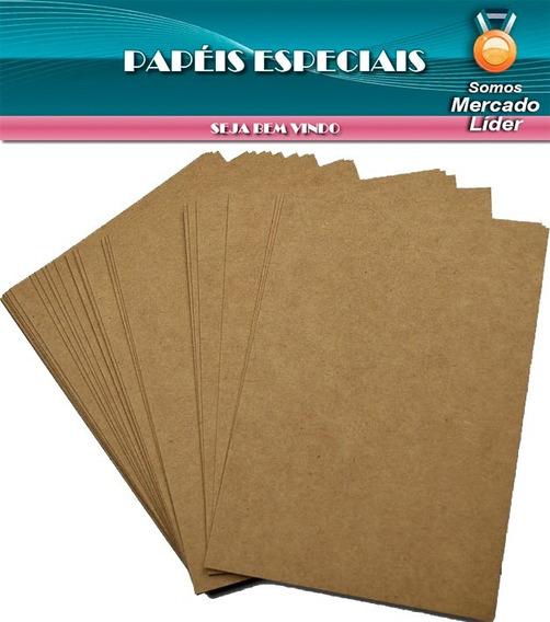 Papel Kraft Liso Fosco A4 - 200g/m2 Com 150 Folhas