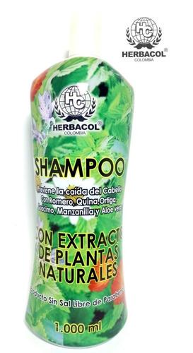 Shampoo Anticaída Extracto De Plantas - L a $22