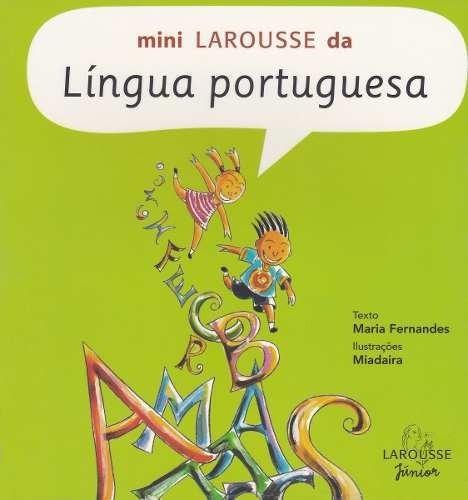 Livro Mini Larousse Da Língua Portuguesa