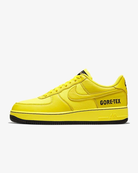Tenis Nike De Hombre Air Force 1 Gore Tex Amarillo Casuales