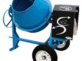Revolvedora De Concreto Power Mix Motor Mpower 9hp