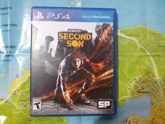 Infamous Second Son (ps4) Juego Fisico