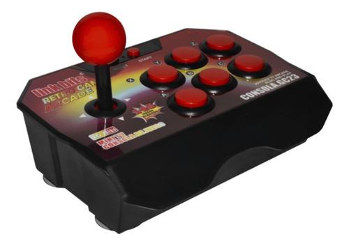 Consola Link Bits GC23 color  rojo y negro
