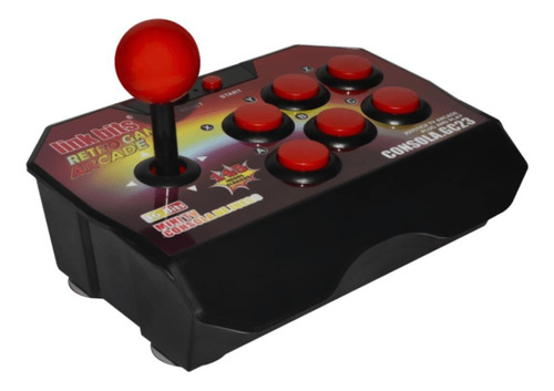 Consola Link Bits GC23 roja y negra