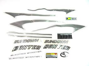 Kit De Adesivos Sundown Hunter 125