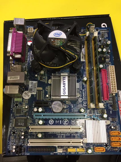Kit Placa Mãe Ga945 -lga 775 + Proc. Intel Celeron Dual Core