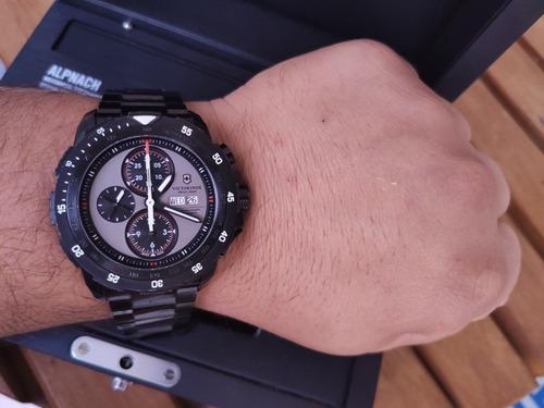 Incrível Relógio Victorinox Alpnach Edição Especial Completo