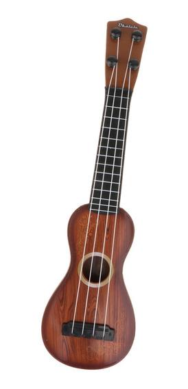 Juguete De Música Infantil Guitarra Acústica De 4 Cuerdas
