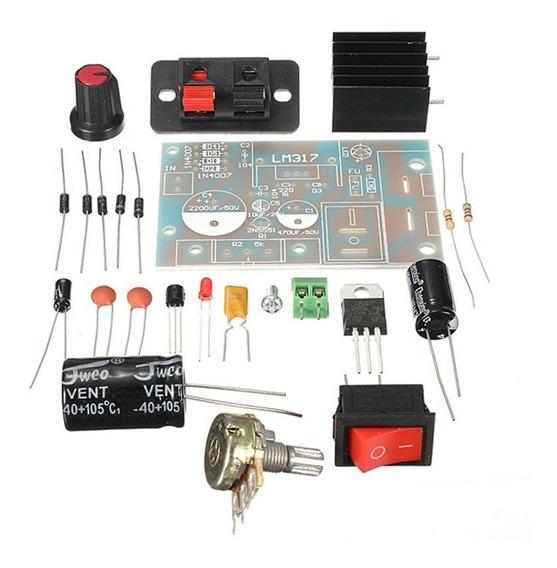 Kit Diy Regulador De Tensão Ajustável Montagem Eletrônico
