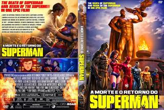 Dvd Filme - A Morte E O Retorno Do Superman (2019) Dublado