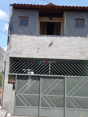 Imagem 1 de 19 de Sobrado Com 4 Dormitórios À Venda, 130 M² Por R$ 500.000,00 - Vila Ivg - São Paulo/sp - So1366