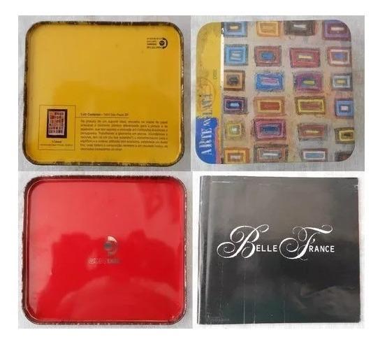 Box 03 Cds A Arte Na Lata 1999 Belle France (som Livre)