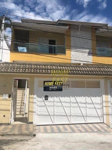 Imagem 1 de 30 de Sobrado Com 3 Dormitórios À Venda, 225 M² Por R$ 1.100.000 - Jardim Santa Mena - Guarulhos/sp - So0917