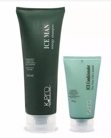 Kit Kpro Ice Man Shampoo 240ml + Condicionador 150g Promo!