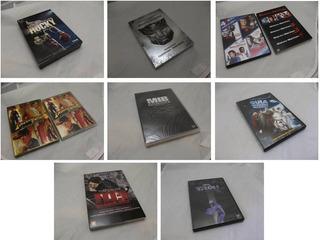 Grande Lote 26 Filmes Dvd Indiana Missao Rocky Mib Tron Etc