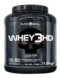 Whey 3hd 1.8kg Isolado, Hidrolisado E Wpc - Black Skull