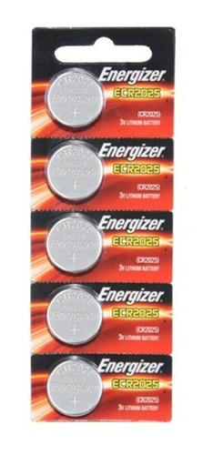 Bateria Ecr2025 Energizer Lithium Moeda Kit 5un - A Melhor