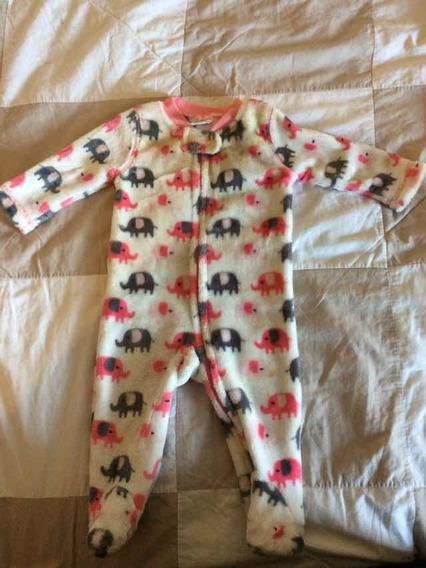 Macacão De Plush Para Bebê De 3 A 6 Meses