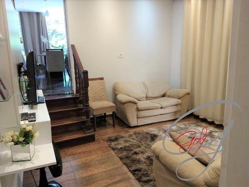 Imagem 1 de 30 de Casa Assobradada, Jardim Das Flores Excelente Localização Próximo Ao Parque Ecológico. - Ca00554 - 69553321