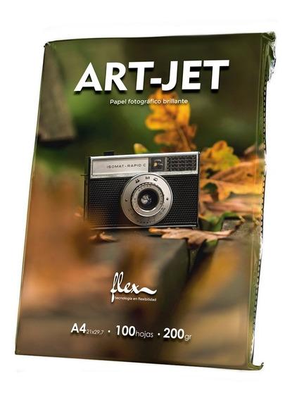 Papel Fotográfico Brillante A4 Art-jet® 200gr Flex A4 X 100h