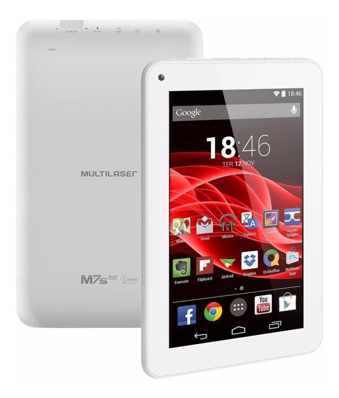 Tablet Multilaser M7s Android 4.4 Quad Core Wi-fi Lacrado