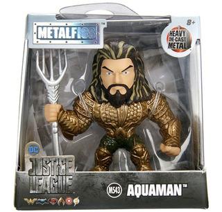 Metalfigs Muñecos Dc Batman, Aquaman Figuras Justice League