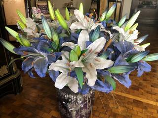 Flores Artificiales Preciosas De Gran Calidad