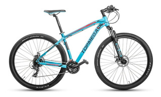 Bicicleta Mountain Bike Alum. Top Mega Thor R29 +linga O Led