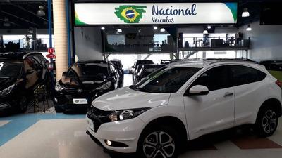 Honda Hr-v Exl Automática Completa + Couro + Multimídia