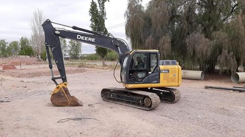 Excavadora John Deere 130g, Año 2017 Con 1211hs