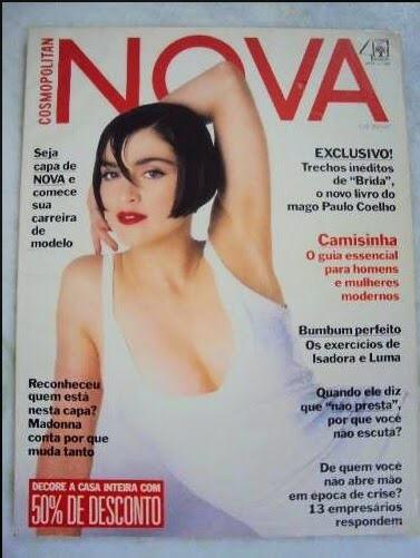 Revista Nova Cosmopolitan- Madonna- 1984 Rara.