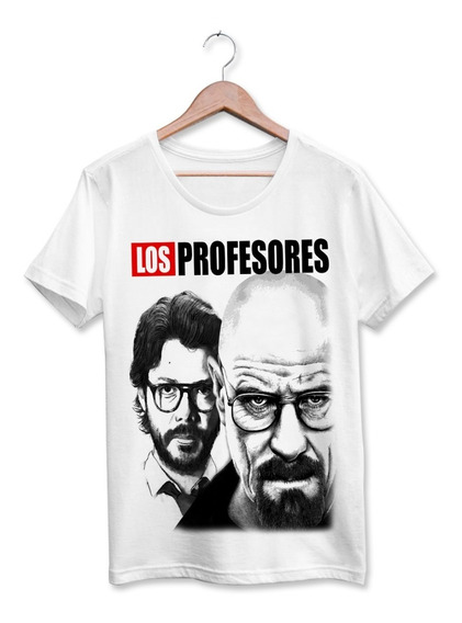 Camiseta La Casa De Papel Breaking Bad Los Profesores Salva