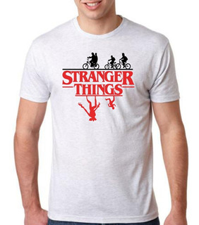 Playera Estampado Stranger Things