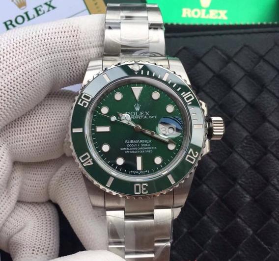 Reloj De Lujo Rolex Hulk Submariner Date