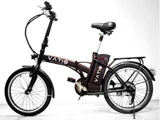 Bicicleta Eléctrica Plegable Vatio Urban. Liquid Serie 2019