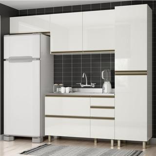 Cozinha Completa Modulada Dalla Costa Vestone 4pc K109 Mdf