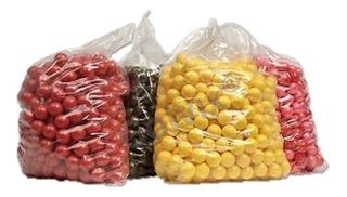 Bolsa De 500 Balas / Paintballs / Capsulas Para Gotcha