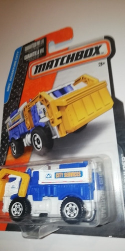 Imagen 1 de 4 de Matchbox Garbage Gulper Camión De Basura Usa & Europe Exclus
